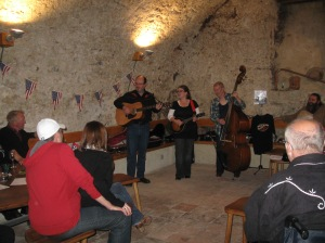 Cellar gig in Neuchatel